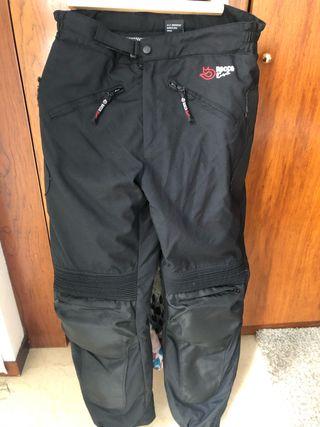 Pantalón moto hombre