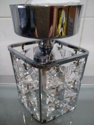 Lámpara pequeña de cristal de strass