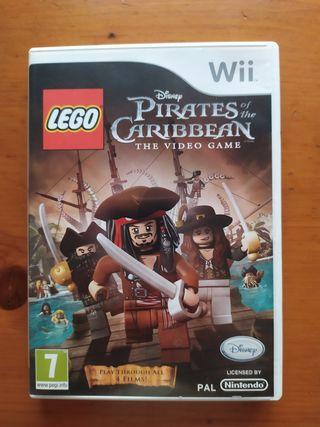 Juego Lego Piratas del Caribe Wii Nintendo