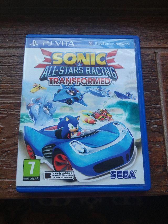 Videojuego PS Vita Sonic & All Stars Racing