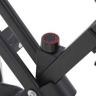 Bicicleta Estática Plegable Pantalla LCD Ergonomía
