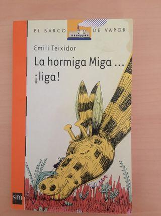 La hormiga Miga liga!