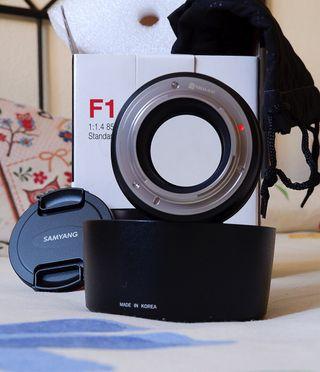 Samyang 85mm 1.4 para fuji