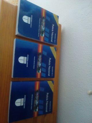 libros para oposicion policía nacional básica