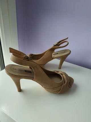 Zapatos de piel N 39