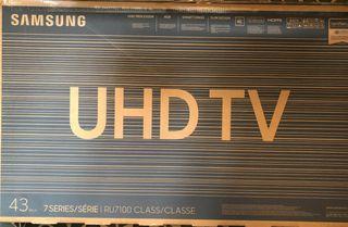 "TV SAMSUNG RU7100 43"" 4K SMART TV"
