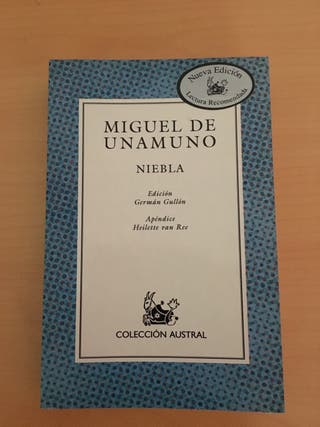 Miguel de Unamuno Niebla