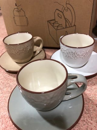 Tazas de café/ té