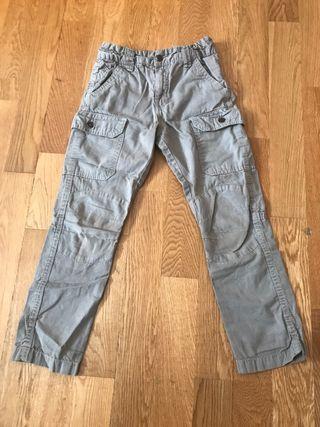Pantalón marrón talla 6 años