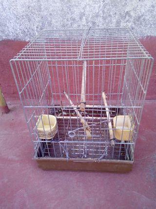 jaula grande para loros o agapurnis