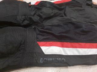 Pantalón Moto con Protecciones Talla XL