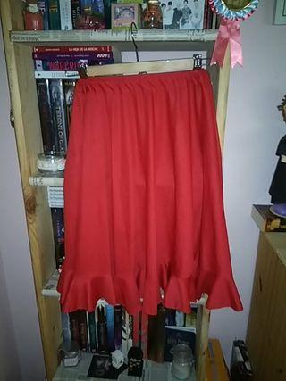 falda flamenco roja (Ensayo)