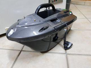 barco cebador skarp S60 + sonda lucky