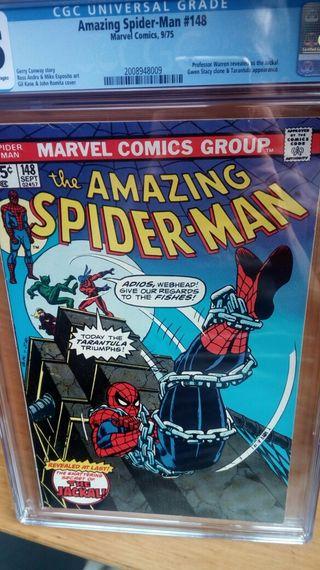 amazing spiderman 148 cgc
