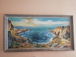 Cuadro comedor Cala Ibiza