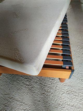 Cama articulada Pikolin de madera