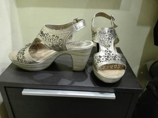 sandalias de tacon comodas