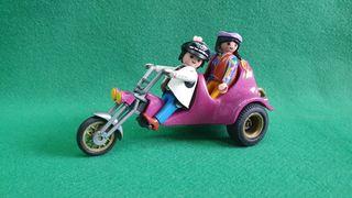 Playmobil 3832 Moto Chopper Doble 3 ruedas