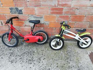 Lote bicicletas iniciacion