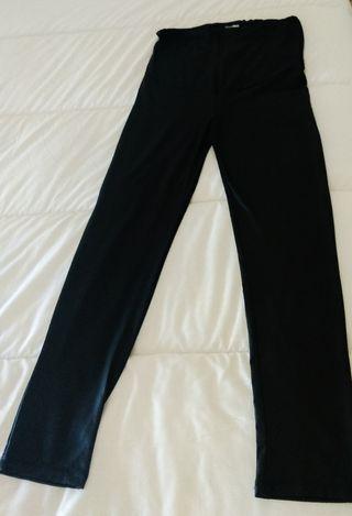 pantalón imitación cuero de EMBARAZADA