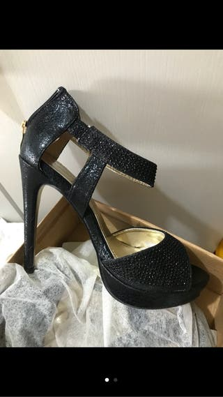 Juego zapatos y bolso fiesta