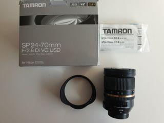 Objetivo para Nikon Tamron 24-70 2.8 Di VC USD