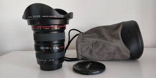 Objetivo Canon EF 17-40mm f/4L USM + Filtro