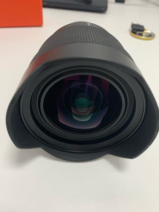 Objetivo Sony 12-24 mm. Como nuevo. Sony Montura E