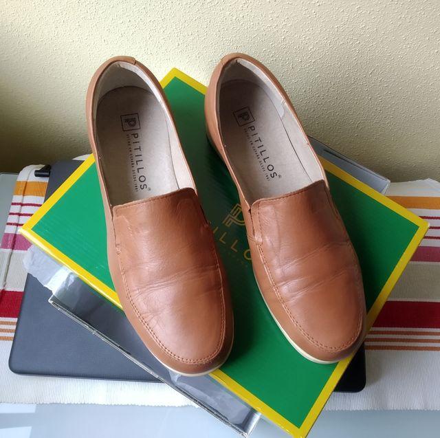 Zapatos forrados Pitillos número 38