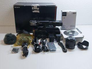 Sony NEX-VG900E 24.3MP + Objetivo 35mm 1.8 OSS