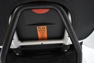 Silla coche Play Xtreme negra gr 1,2,3