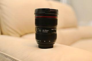 Vendo objetivo Canon EF 24-70mm f/2.8L II USM