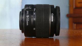 objetivo canon EFS 18-55 mm