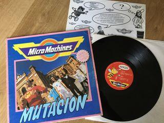 Vinilo Micromachines