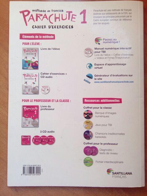 libro de texto de francés 1 de la eso