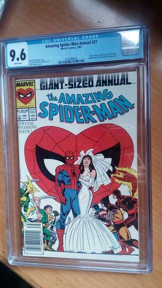 amazing spiderman annual 21 cgc