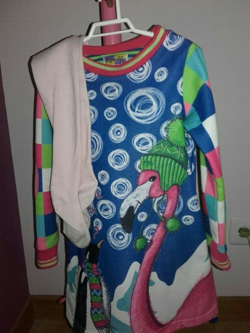 Vestido Rosalita talla 5