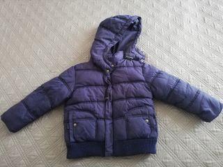 Abrigo para niño con capucha desmontable