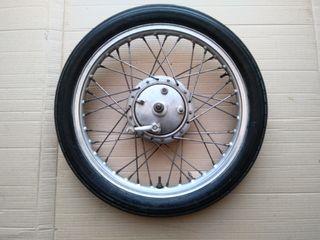 rueda delantera de bultaco