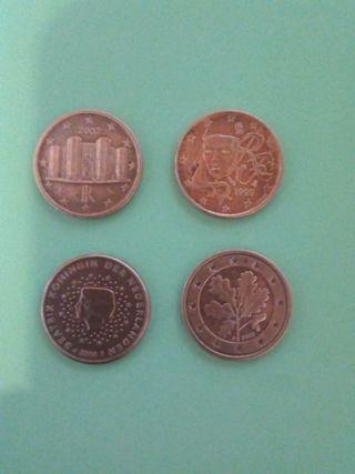 moneda de 1 céntimo