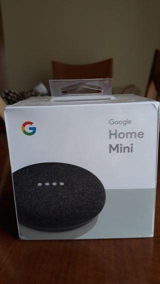 Google home mini sin desprecintar