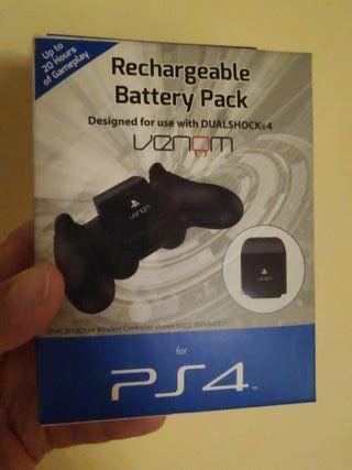 batería recargable mando dual shock PS4