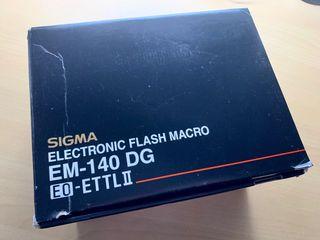Flash Anular Sigma EM-140 DG para Canon