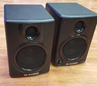 Monitores de estudio M audio