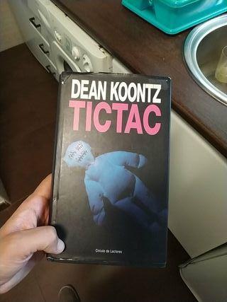 Novela terror TicTac de Dean Koontz