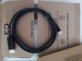 Cable HDMI a USB C