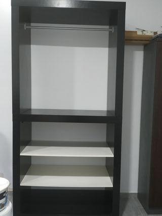 mueble modular para ropa.