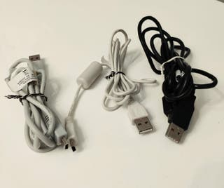 6 cables USB 5 eur!