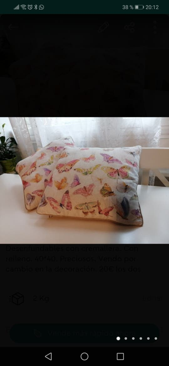 Lote mariposas zara home