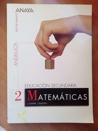 libro de texto de matematicas 2 eso